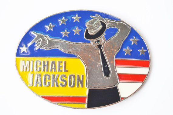 michael jackson hebilla por Limbhad en Etsy