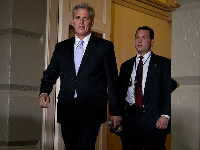 HE'S MORE OF A RINO THAN CANTOR.... Kevin McCarthy Elected House Majority Leader; Raul Labrador Falls
