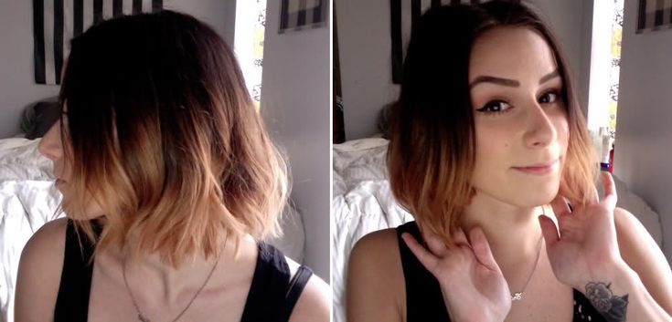 DIY Ombr: Diy Ombre, Short Ombre, Ombre Hair, Hair Tutorial, Hairstyle, Shorts, Hair Style, Beauty, Hair Color