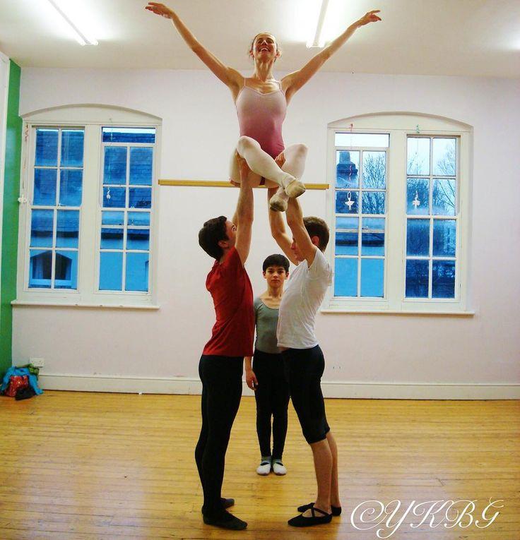 From a #rehearsal for #YKBG #show. #ballet #adultballet #balletlift #lifeofadancer #oxford