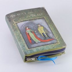 Beauty and the Beast Book Clutch by p.s. Besitos