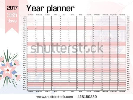 The 8 best Organisation images on Pinterest | Wall planner, Planner ...