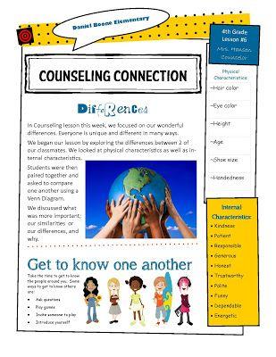 17 best Counseling- Newsletter images on Pinterest 2nd grades - school newsletter