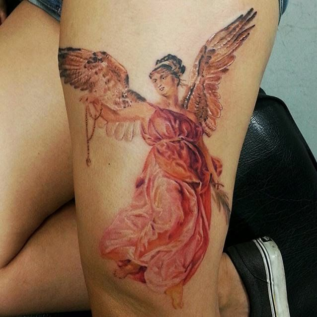 Angel Tattoos: Awesome Angel Tattoo Designs