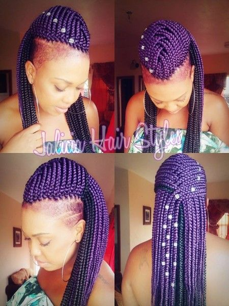 Very Lovely Braids By Jalicia Hair Styles - http://community.blackhairinformation.com/hairstyle-gallery/braids-twists/lovely-braids-jalicia-hair-styles/