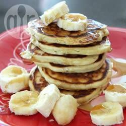 Recipe photo: Simple banana pancakes