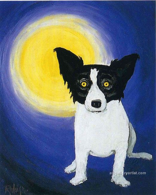 George Rodrigue dogs
