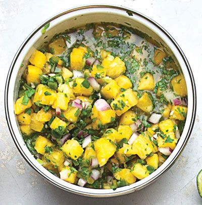 Salsa de Piña Picante (Spicy Fresh Pineapple Salsa) | SAVEUR