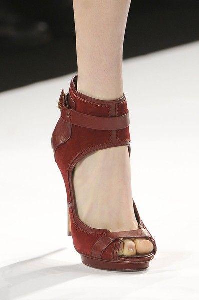 Sandals at BCBG Max Azria - Fall 2012