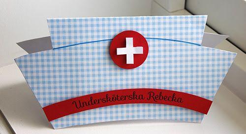 Examenskort till läkare och undersköterska | Signerat Hanna Wallgren #signerathannawallgren