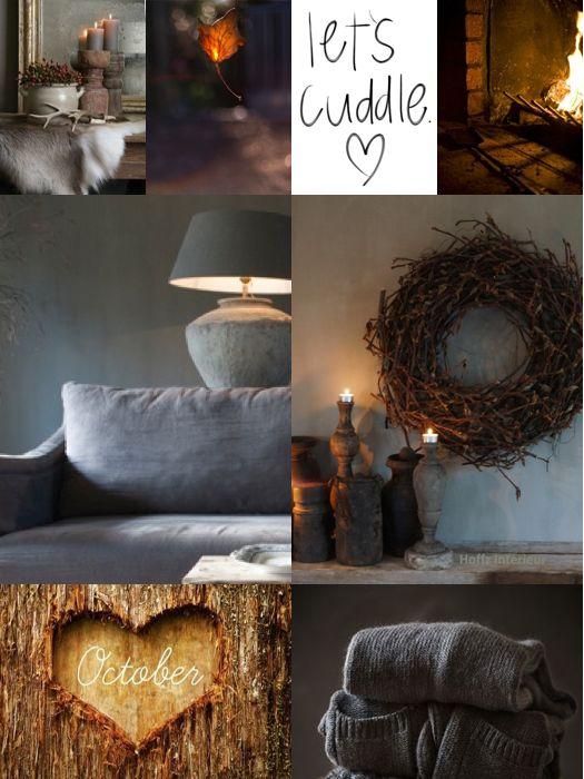 Autumn collage by Anita