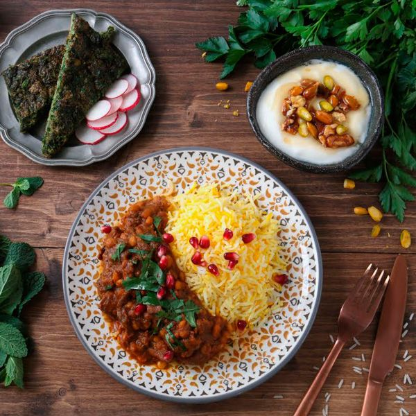 FoodChéri célèbre Norouz avec la cuisine du chef iranien Sam Tavassoli du restaurant Mazeh #cuisineiranienne #gastronomie #restaurant