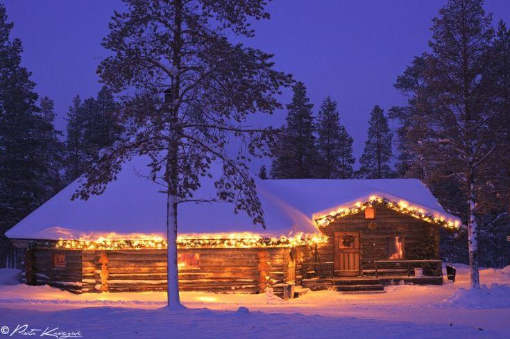 Laponie finlandaise - Ma première aurore boréale                                                                                                                                                                                 Plus