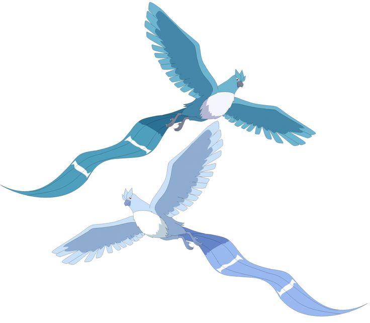 Pokémon Art Museum (Articuno & Shiny Articuno by Gilbertman)