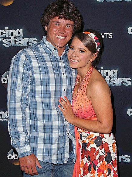 Bindi Irwin and Boyfriend Chandler Powell Make Red Carpet Debut as a Couple at DWTS  Couples, Dancing With the Stars, TV News, Bindi Irwin