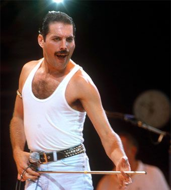 Freddie Mercury: ¡Uno de los grandes! I have this photo in my dorm room:)