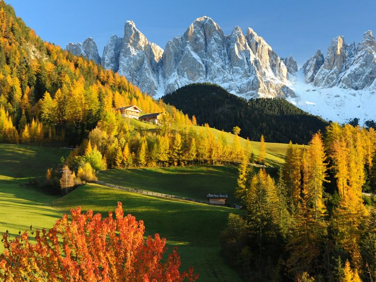 The Funes Valley, Northern Italy Picture by Ilaria Battaini