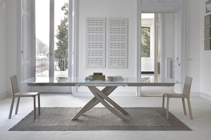 Tavolo moderno allungabile ARTISTICO
