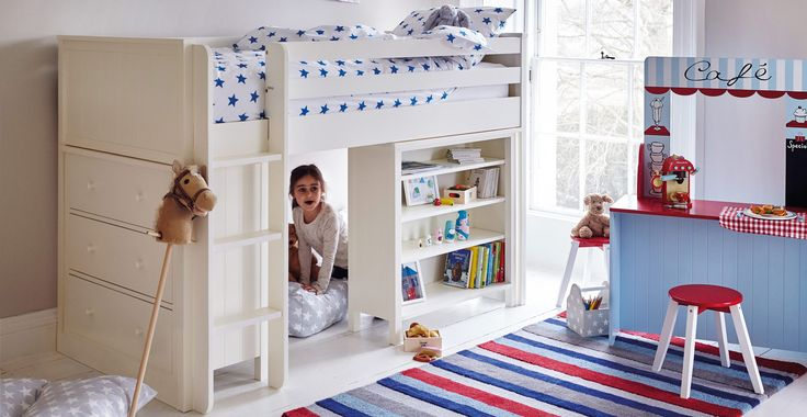 Islander Mid Sleeper Bed - Frame