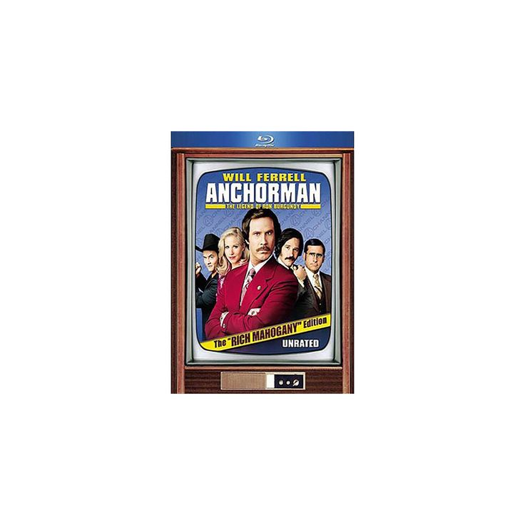 "Anchorman: The Legend of Ron Burgundy [The ""Rich Mahogany"" Edition] [2 Discs] [Blu-ray]"