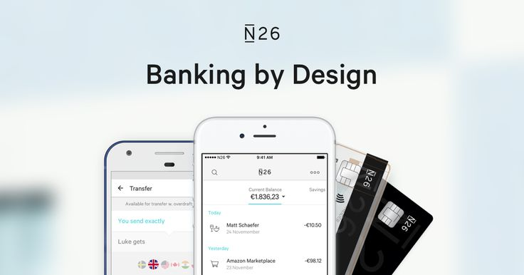 Europe's most modern bank account NUMBER26 is N26 now!Discover real-time banking with the N26 current account.