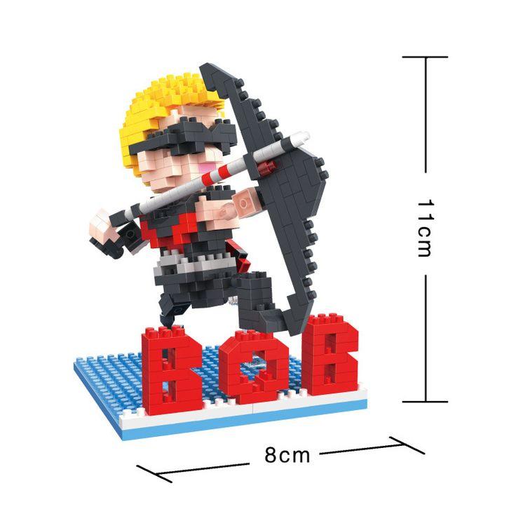 BOB DIY Blocks Marvel Super hero eagle eye 9528