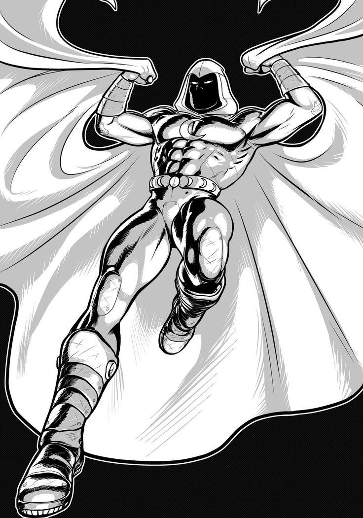 Moon Knight Prestige Series 2.0 by Thuddleston.deviantart.com on @deviantART