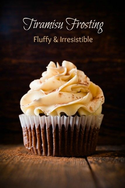 Fluffy and Irresistible Tiramisu Frosting | Cupcake Project