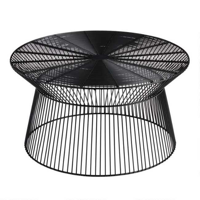 Metal Zeke Outdoor Coffee Table