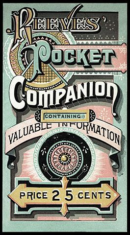 Pocket Companion: vintage typography    // oh goodness. this this this and so much this. please.