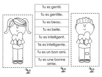 CARTE DE LA SAINT VALENTIN - FRENCH IMMERSION VALENTINE'S CARDS - TeachersPayTeachers.com