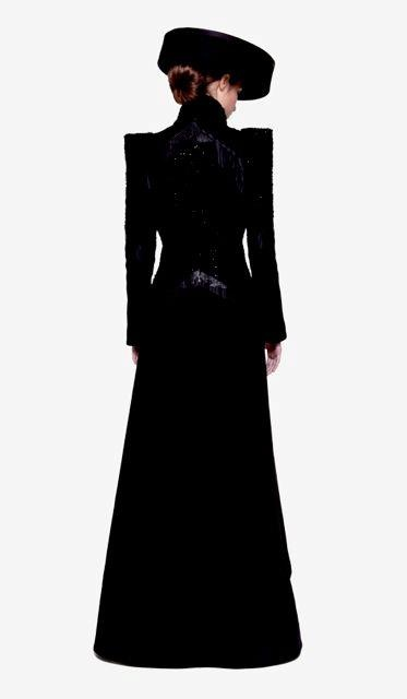 Dress from the Maison Noir collection.