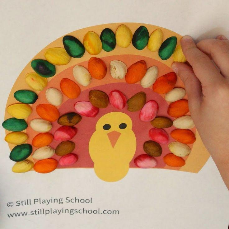 Turkey Pattern Sheet | Still Playing School
