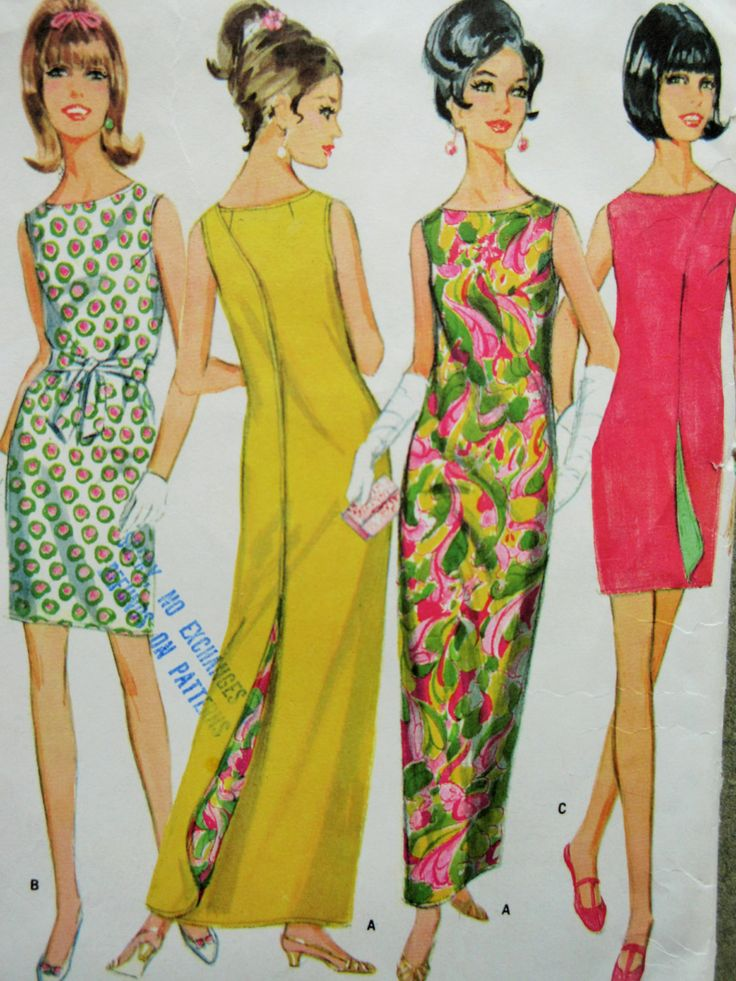 Vintage McCall's 9109 Sewing Pattern, 1960s Wrap Dress, Bust 38, Wrap Arounder, 1960s Sewing Pattern, Reversible Dress, Sixties 60s Pattern by sewbettyanddot on Etsy