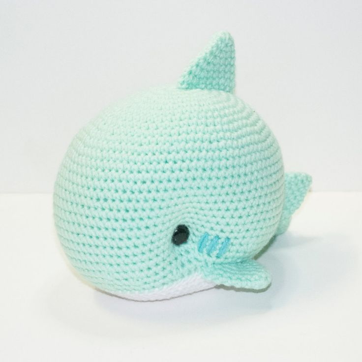 Monty the Shark by Heartstringcrochet.deviantart.com on @DeviantArt
