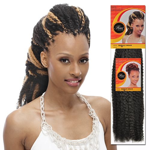 Femi Collection 100% Kanekalon Hair braids Marley Braid