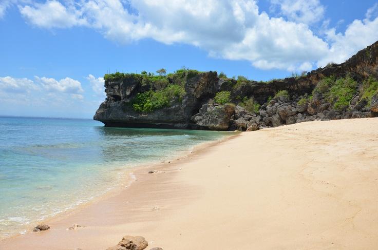 Hidden Balangan Beach on Bukit Peninsula - well worth finding after your Bali Yoga Teacher Training with Zuna Yoga http://www.zunayoga.com/travel-ubud-bali.html