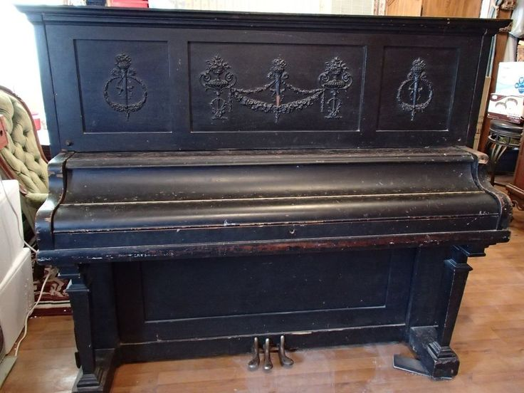 Antique Upright Kimball Piano (Style 4, with 88 Keys and 3 Pedals) #Kimball