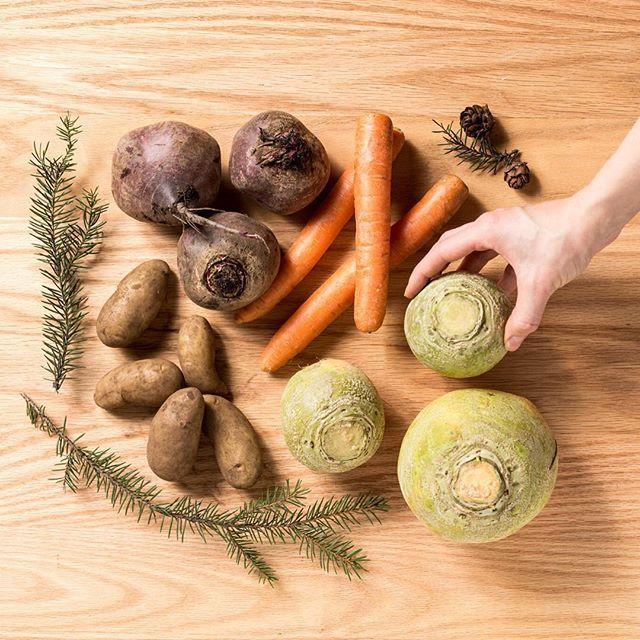 Tiesitkö, että tällä viikolla on #joulujuuresviikko #lanttu #porkkana #punajuuri #peruna #kasvishovi #lähiruokaa