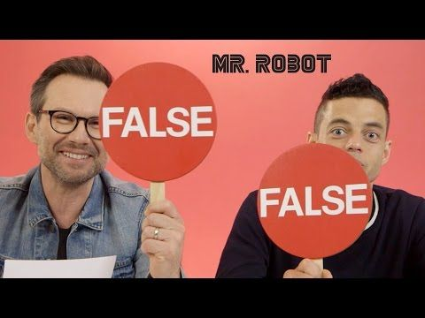 Hacking Facts with Rami Malek & Christian Slater  // Presented by BuzzFeed & USA's Mr. Robot - YouTube