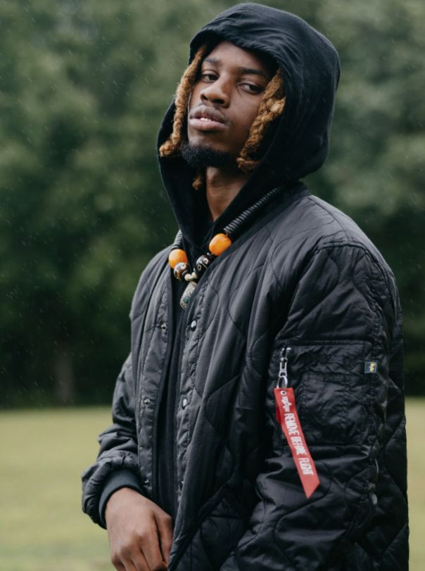 """Alpha and Urban Outfitters are excited to showcase the newest collection of jackets, featuring Denzel Curry.  Tap link to see Denzel rocking Alpha in his newest music video, """"Zenith,"""" featuring Joey Bada$$, out now."""