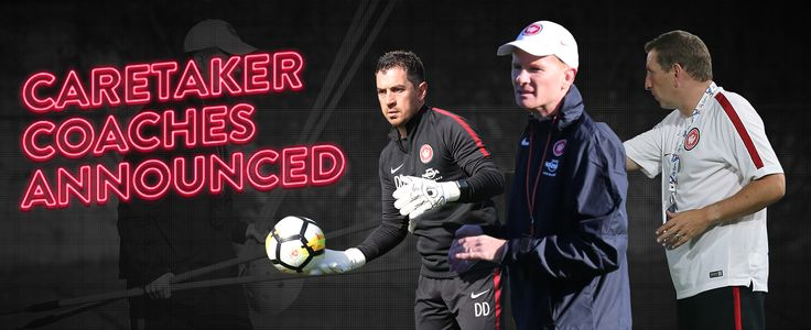 03.10.17:The NRMA Insurance Western Sydney Wanderers today announced that Hayden Foxe will take up the role of caretaker head coach with Wanderers Academy Technical Director Ian Crook as assistant and Davide Del Giovine as goalkeeping coach.  Following the departure of foundation coach Tony Popovic, assistants Zeljko Kalac and Andres Carrascohave also departed the club with immediate effect.