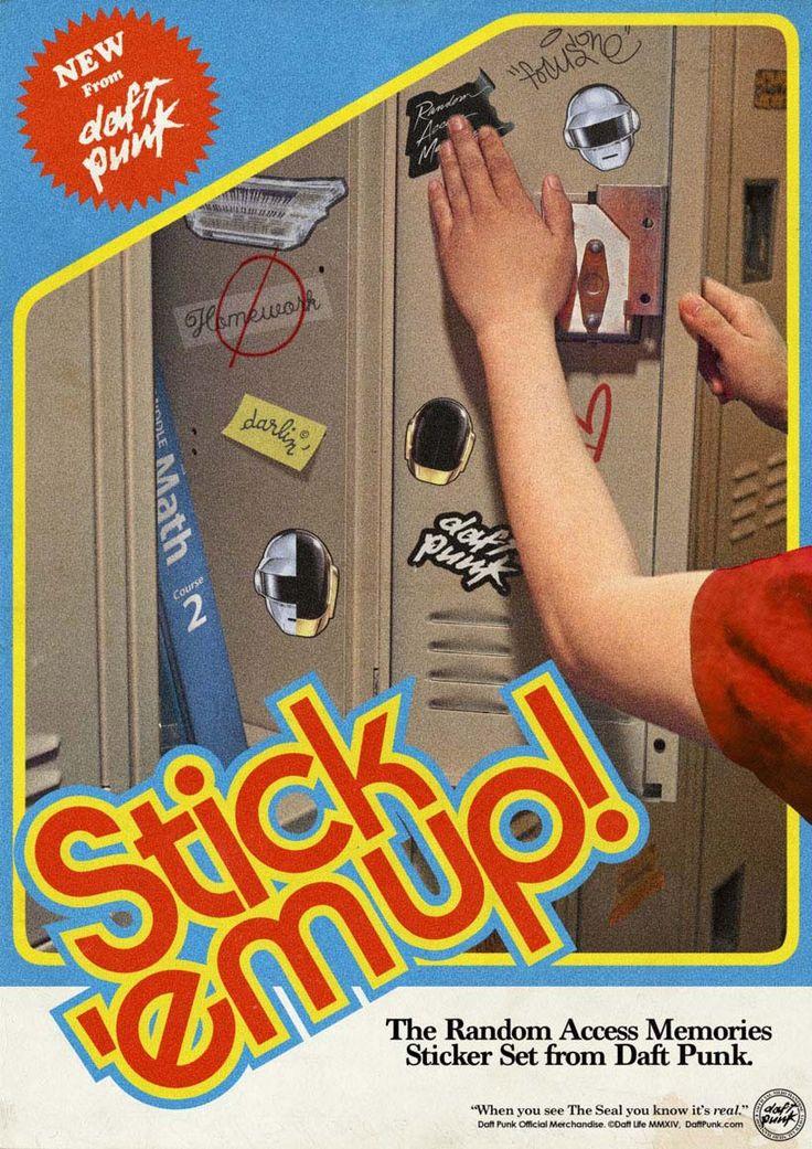 daft punk poster vintage-15