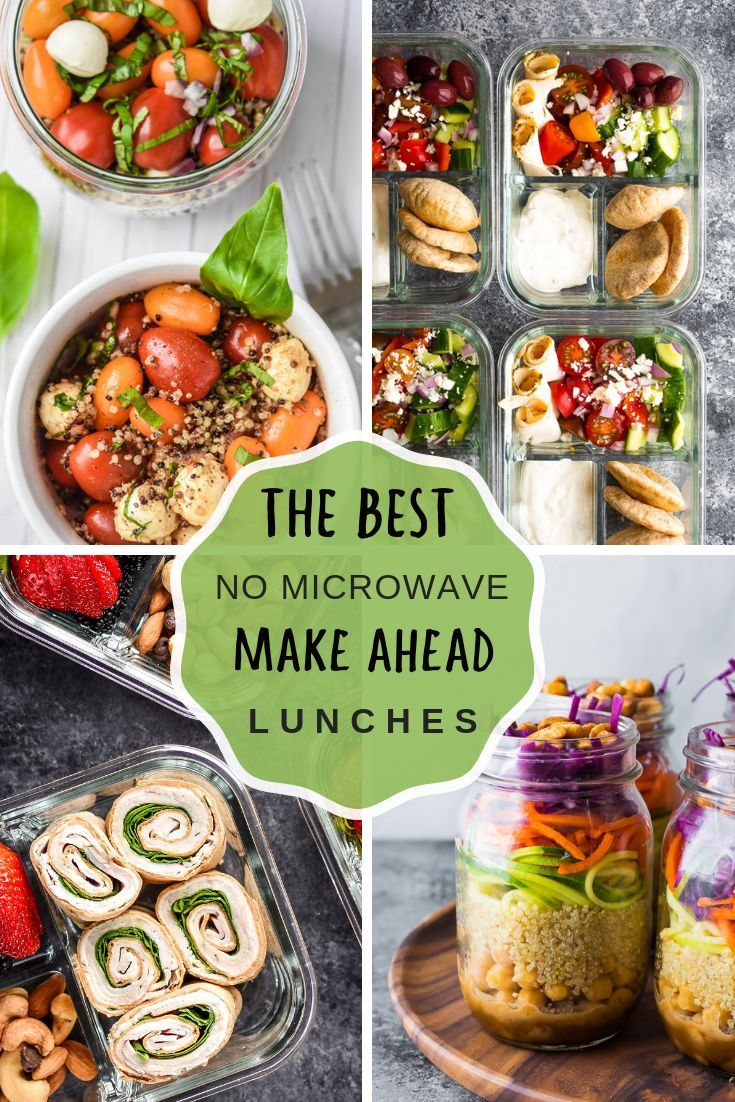 Beautiful Meal Prep Ideas For Lunch No Microwave