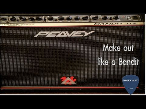 Demo of Peavey Bandit 112 Red Stripe with Chapman ML-1 - YouTube