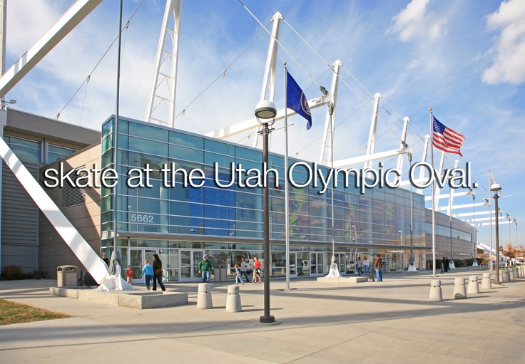 Located in Kearns, the Utah Olympic Oval is dubbed the fastest ice on earth. 8 out of the 10 world speed skating records were shattered during the 2002 Olympic games here.