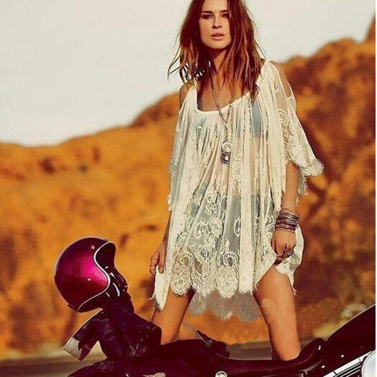 """Платье в стиле бохо: фото, примеры из жизни, для полных, с чем надевать, какие бывают, как сшить — Имя """"Мода"""""""