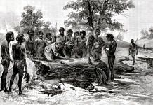The tragedy of the Bunurong people.