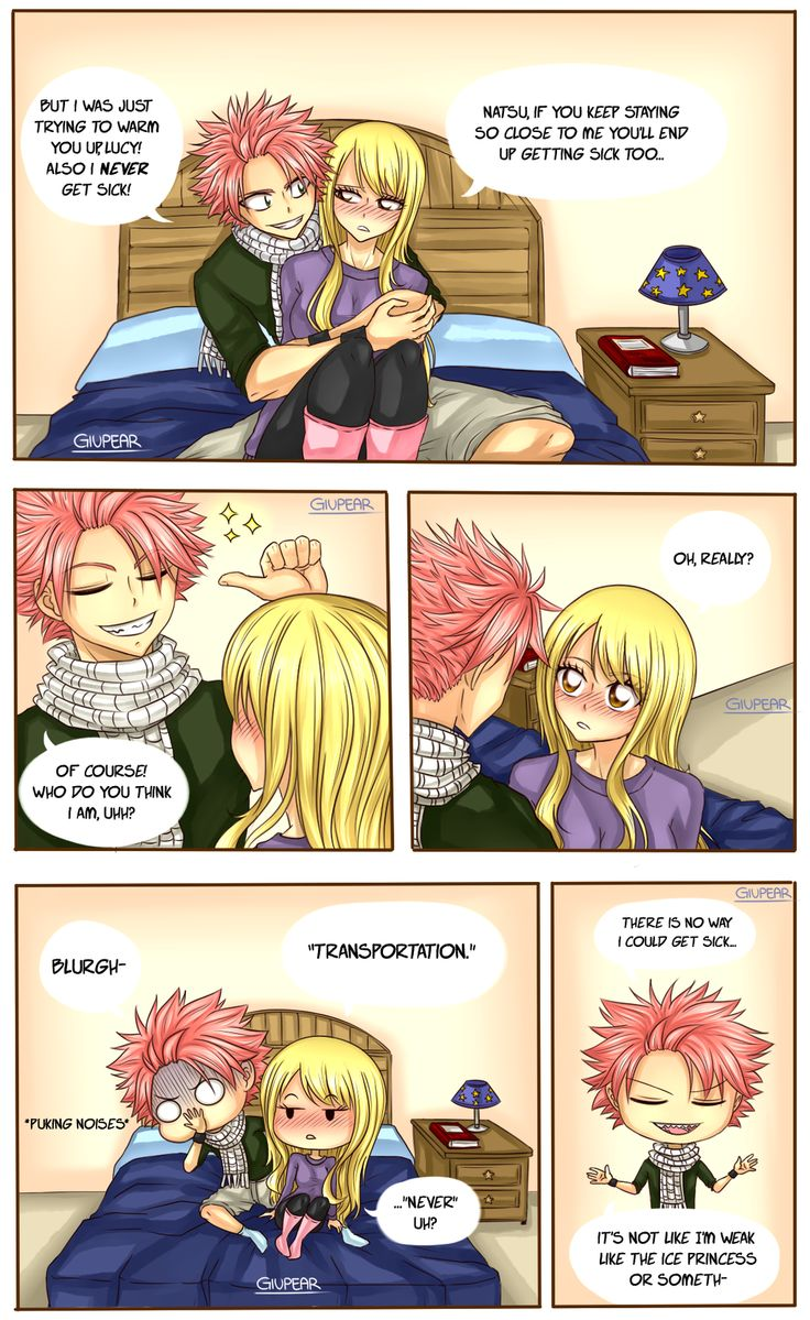 Just a word (Nalu comic) by Giupear on DeviantArt. Fairy Tail ...