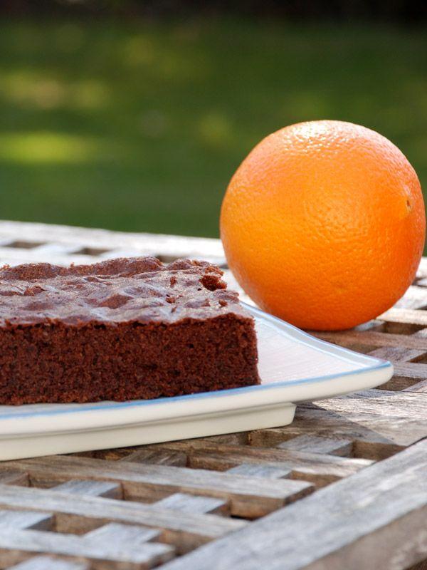 Chokoladekage med appelsin - Opskrift fra Bageglad.dk